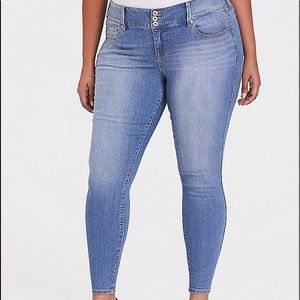 Jegging Super stretch light wash